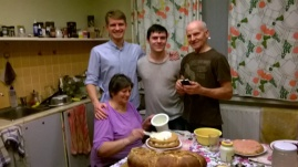 Craciun in Lituania - Familia care m-a adoptat - Daniel NICA (1)