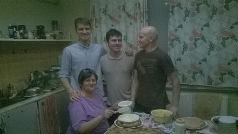 Craciun in Lituania - Familia care m-a adoptat - Daniel NICA